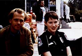 Michael Walde-Berger und  Molly Ringwald