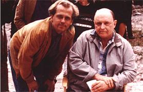Michael Walde-Berger und  Rod Steiger