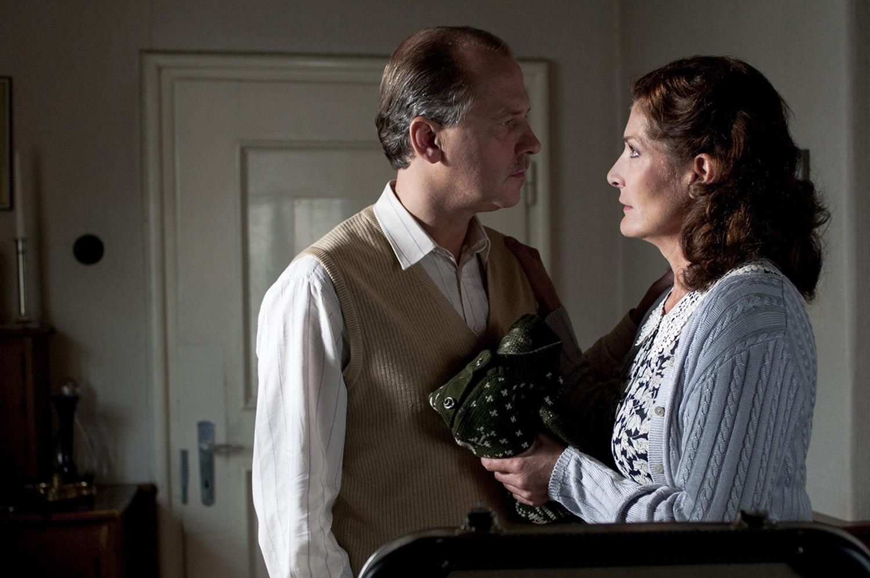 Michael Walde-Berger mit Christine Maynals dessen Ehefrau Grete Berger